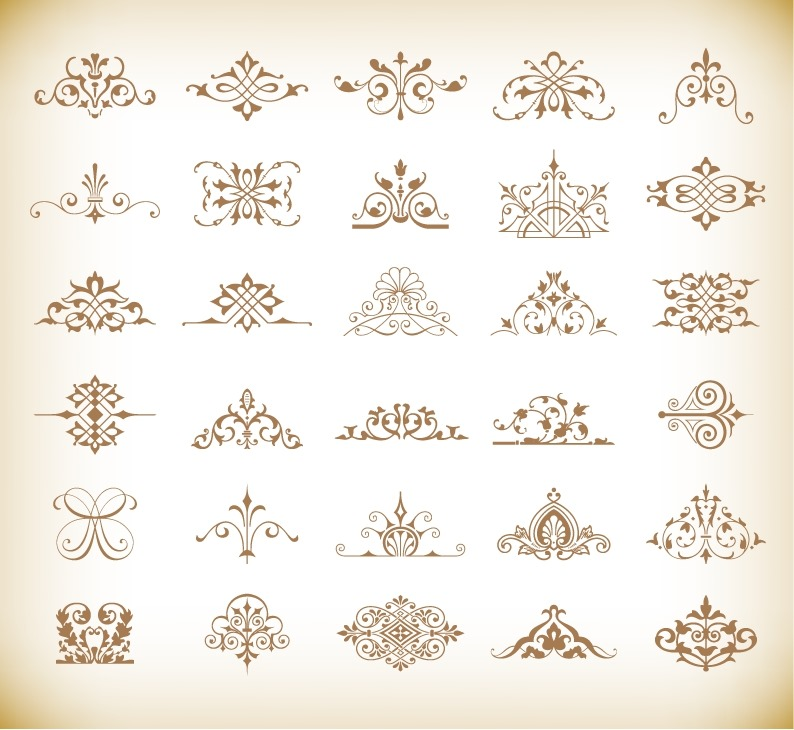 794x730 Floral Vector Elements Free Vector Graphics All Free Web