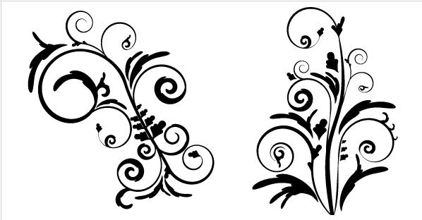 598x312 Free Free Floral Vectors Psd Files, Vectors Amp Graphics