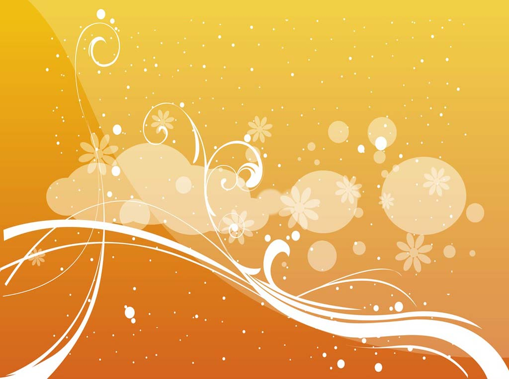 1024x764 Abstract Floral Vector Vector Art Amp Graphics