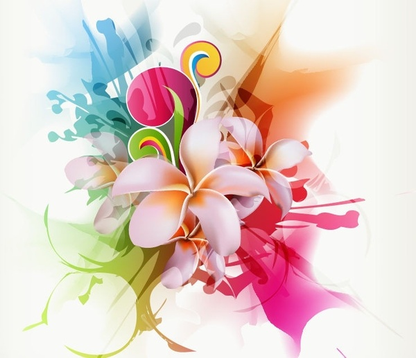 600x517 Round Floral Design Free Vector Download (11,330 Free Vector) For