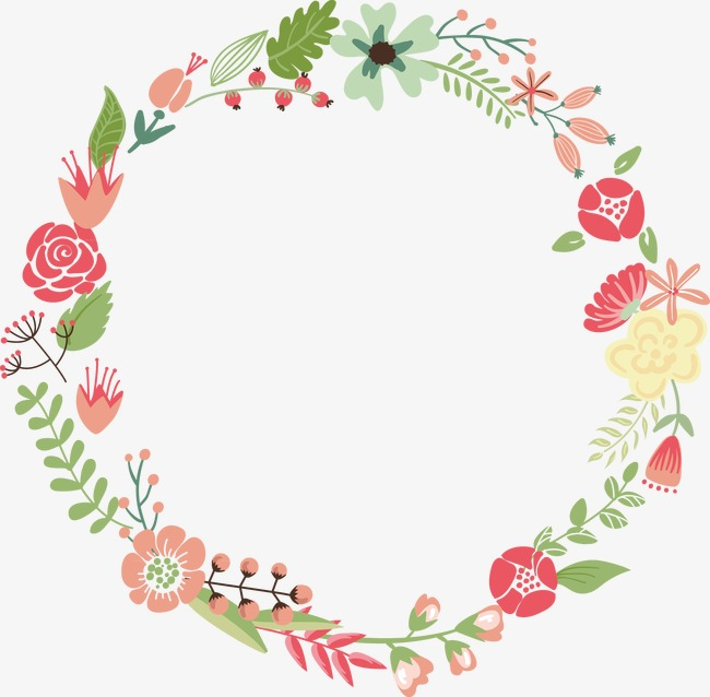 650x638 Wreath, Wreath Vector, Pattern Png And Vector For Free Download