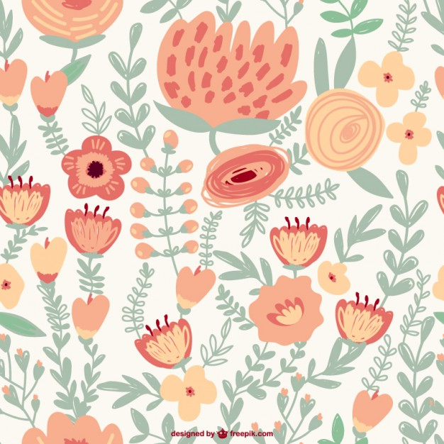 Flores Vintage Vector At Getdrawings Com Free For Personal Use