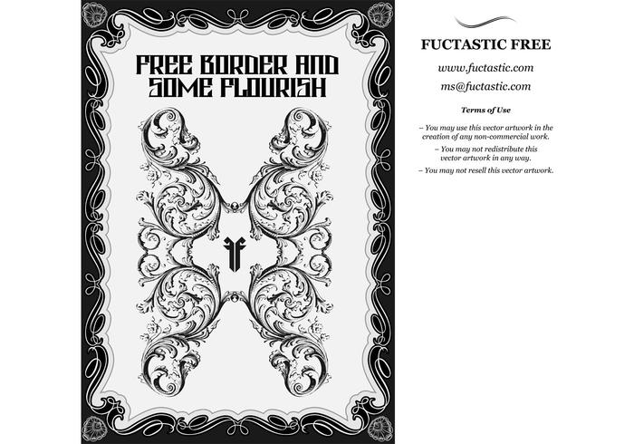 700x490 Free Borders And Vector Flourishes
