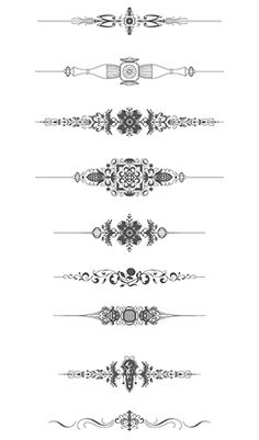 236x401 Luxurious Flourishes Vector Pack