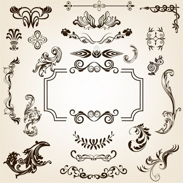 368x368 Calligraphic Flourish Vector Free Vector Download (1,943 Free