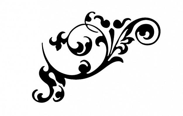 626x396 Free Vector Flourish Ornaments Vector Free Download