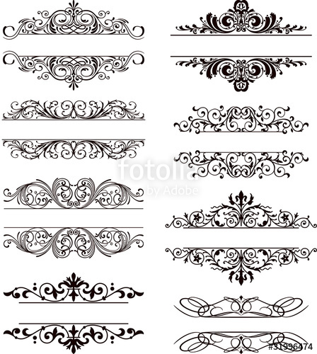 448x500 Flourish Vector Labels Stock Image And Royalty Free Vector Files