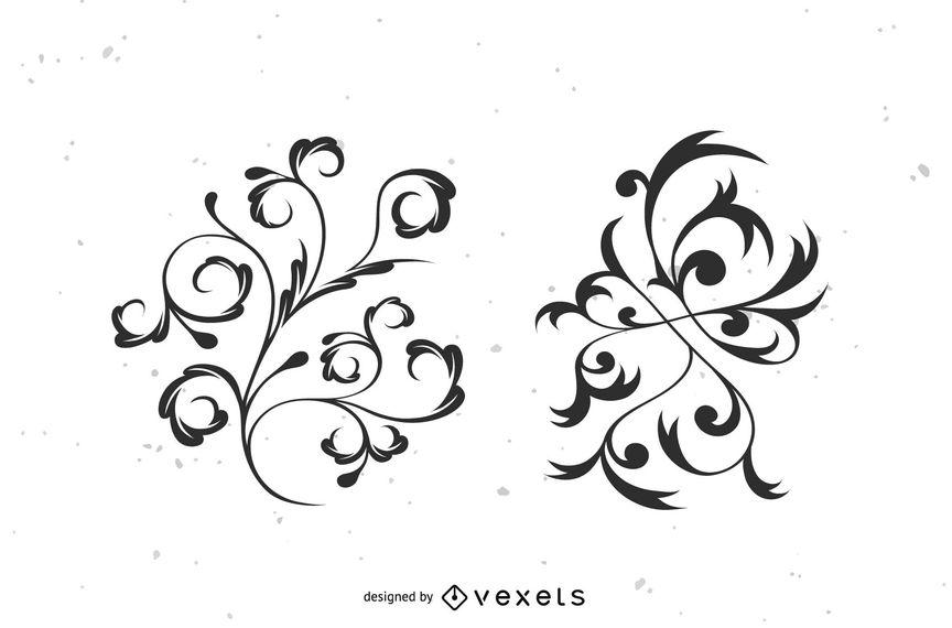864x570 Flourish Vector
