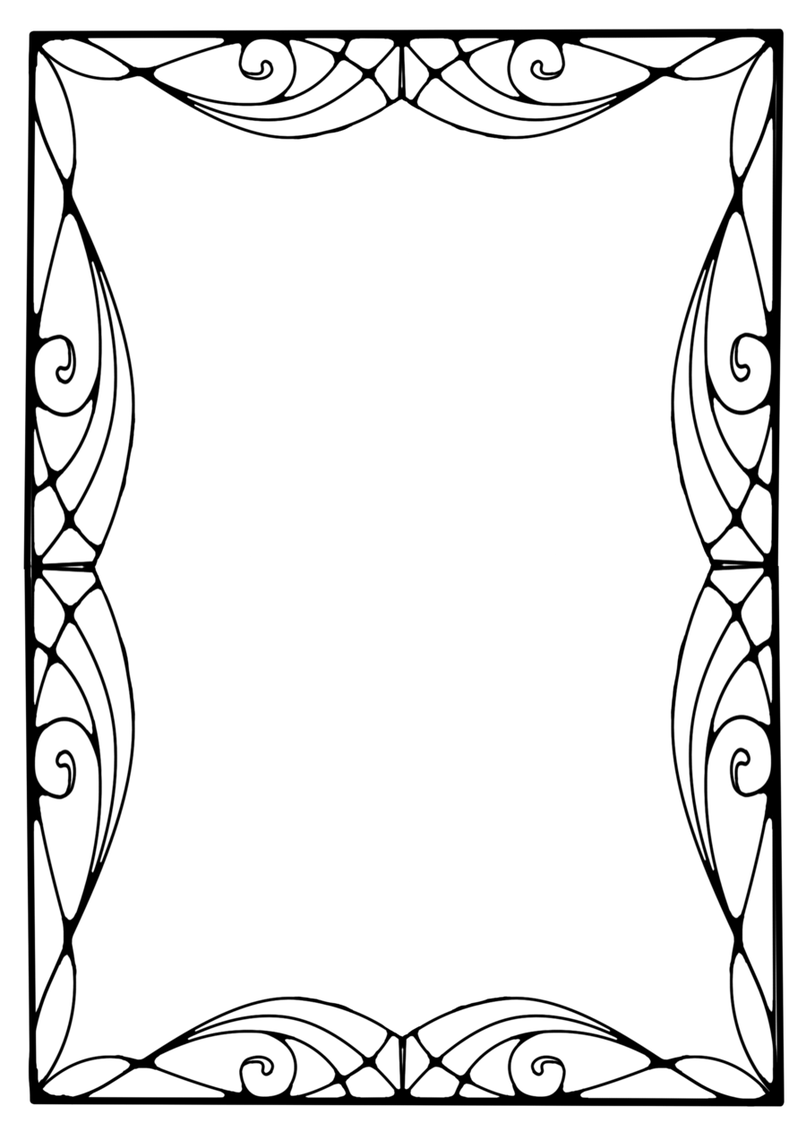 806x1140 Collection Of Free Flourish Vector Art Deco. Download On Ubisafe