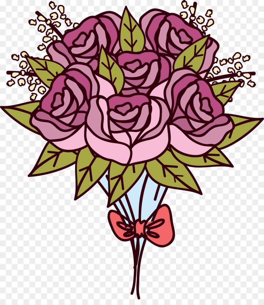 900x1040 Floral Design Beach Rose Flower Bouquet