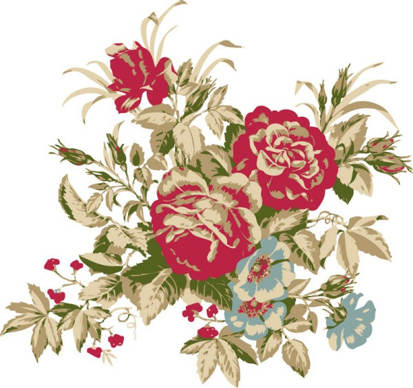 600x564 Flower Bouquet Vector Graphics Collection My Free Photoshop World