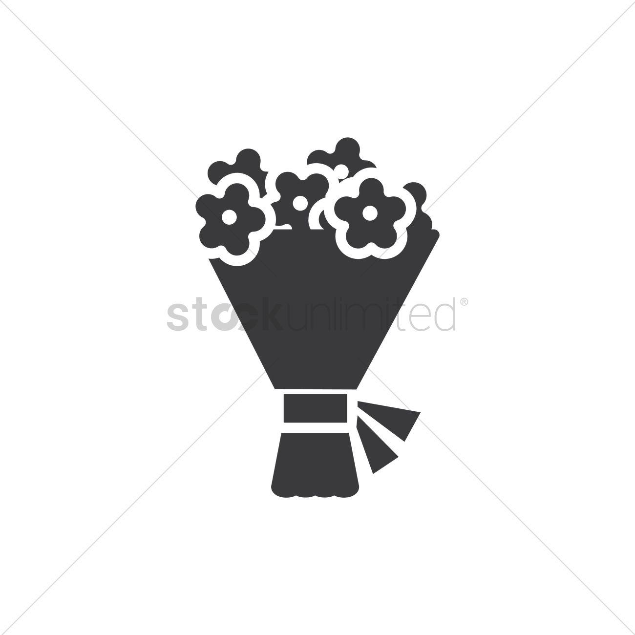 1300x1300 Flower Bouquet Vector Image