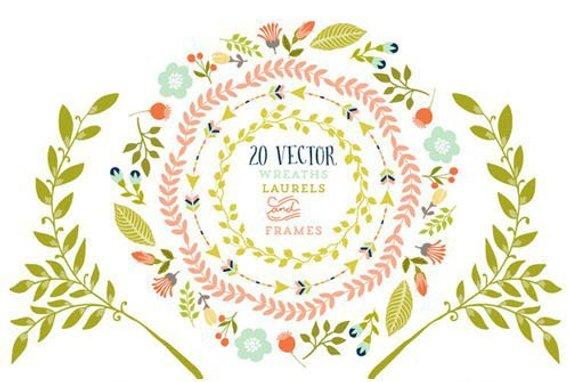 Flower Circle Vector