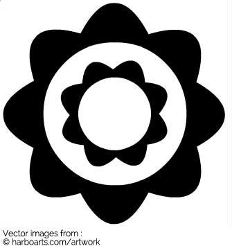 335x355 Download Retro Flower Circles