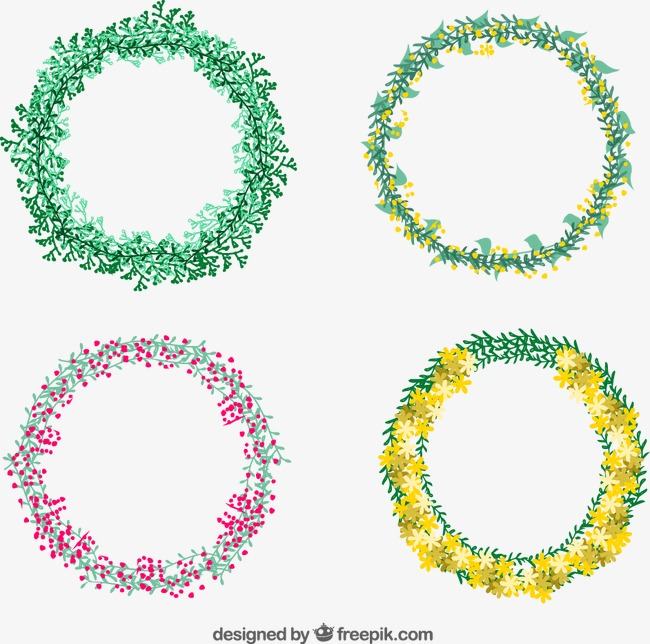 650x644 Flower Circle, Flower Vector, Circle Vector, Loop Png And Vector