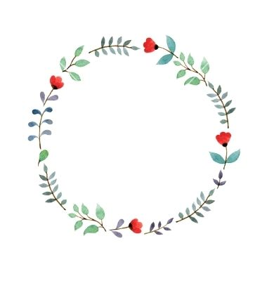 Flower Crown Vector