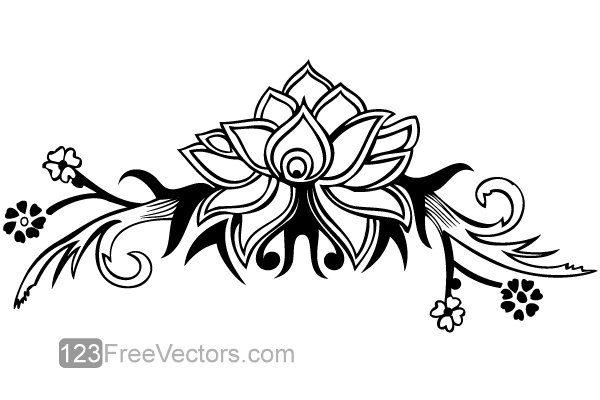 600x400 Free Hand Drawn Flower Design Psd Files, Vectors Amp Graphics