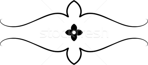 600x266 Simple Vector Floral Design Vector Illustration Mr Vector