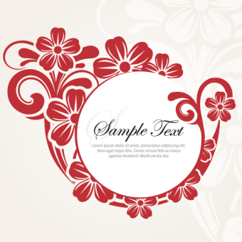 340x340 Colorful Flower Designs Vector 123freevectors