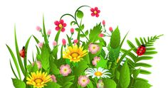 236x124 Cartoon Flowers Clip Art Flower Garden Stock Vector Basheera