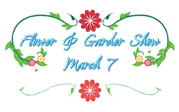 600x375 Free Flower And Garden Show Logo Psd Files, Vectors Amp Graphics