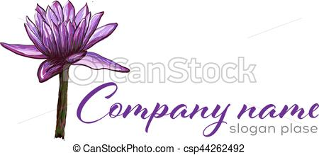 450x219 Lotus Logo,lotus Flower Logo,beauty Logo,fashion Logo,vector Logo
