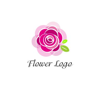 389x346 Rose Flower Art Vector Logo Download Vector Logos Free Download