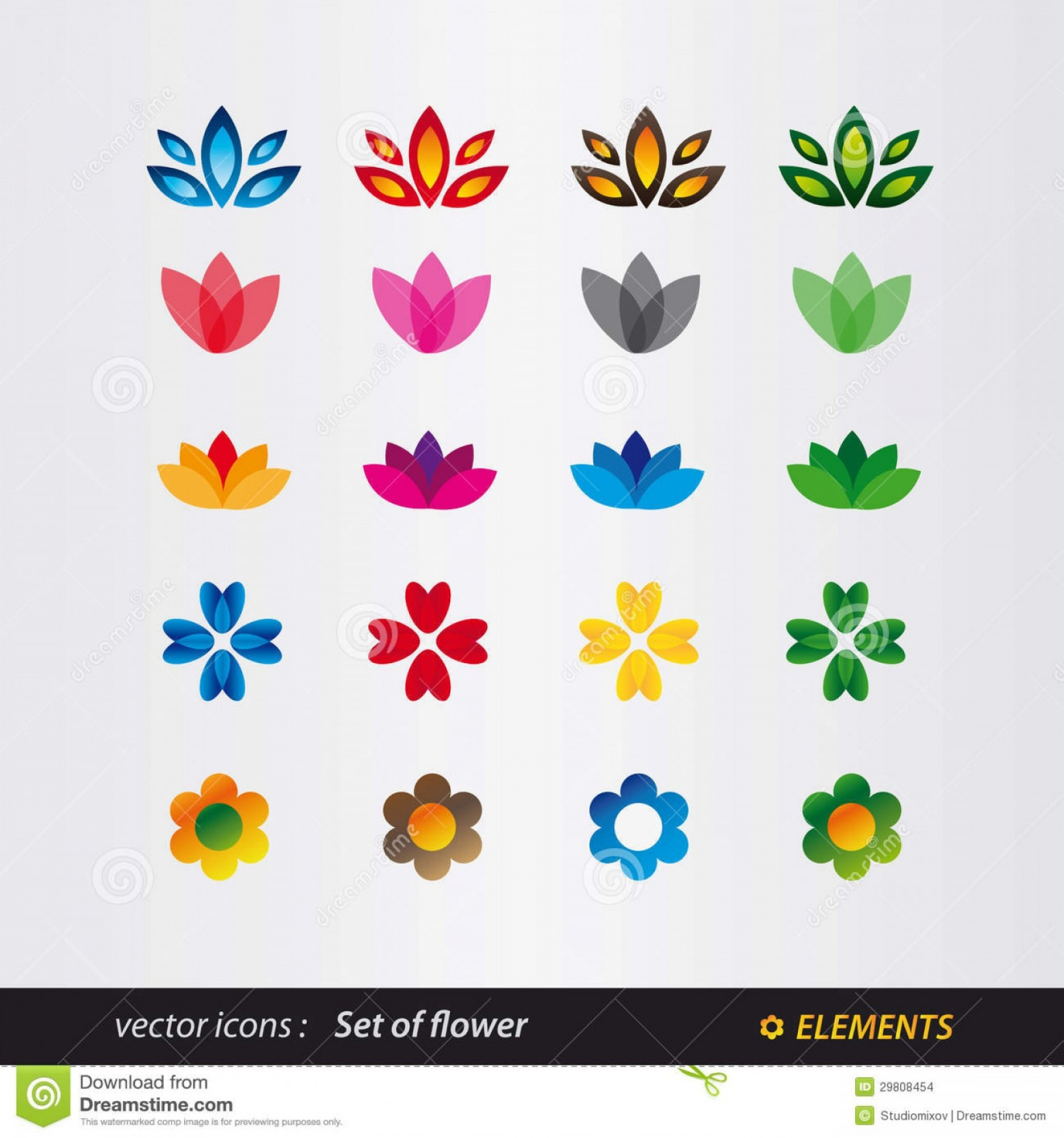 1872x2001 Stock Images Set Logo Flower Image Shopatcloth