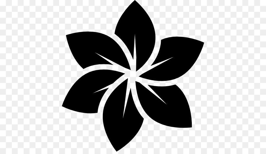 900x520 Flower Logo Black And White Clip Art