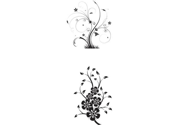 700x490 Free Floral Swirls Vectors