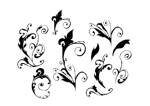500x353 30 Free Swirl,curly And Floral Vectors For Designers Designbeep
