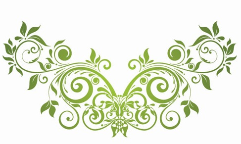 487x291 Vector Swirl Floral Design Element Free Vector Graphics All