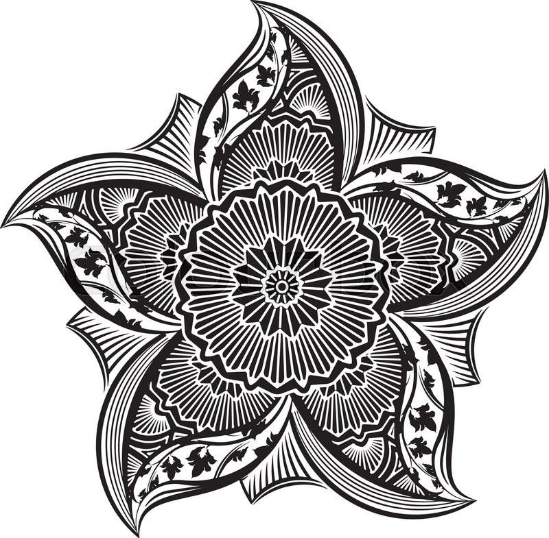 800x785 Round Asymmetrical Decorative Element