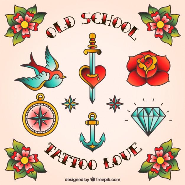 626x626 Tattoo Designs Vector Free Download
