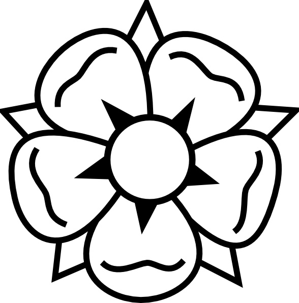 588x596 Flower Tattoo Clip Art Free Vector In Open Office Drawing Svg