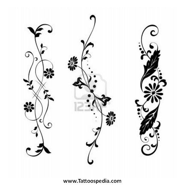 650x650 Flower Tattoos Vector 2 444 Flower Tattoos And Tattoo