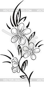 152x300 Flower Tattoo