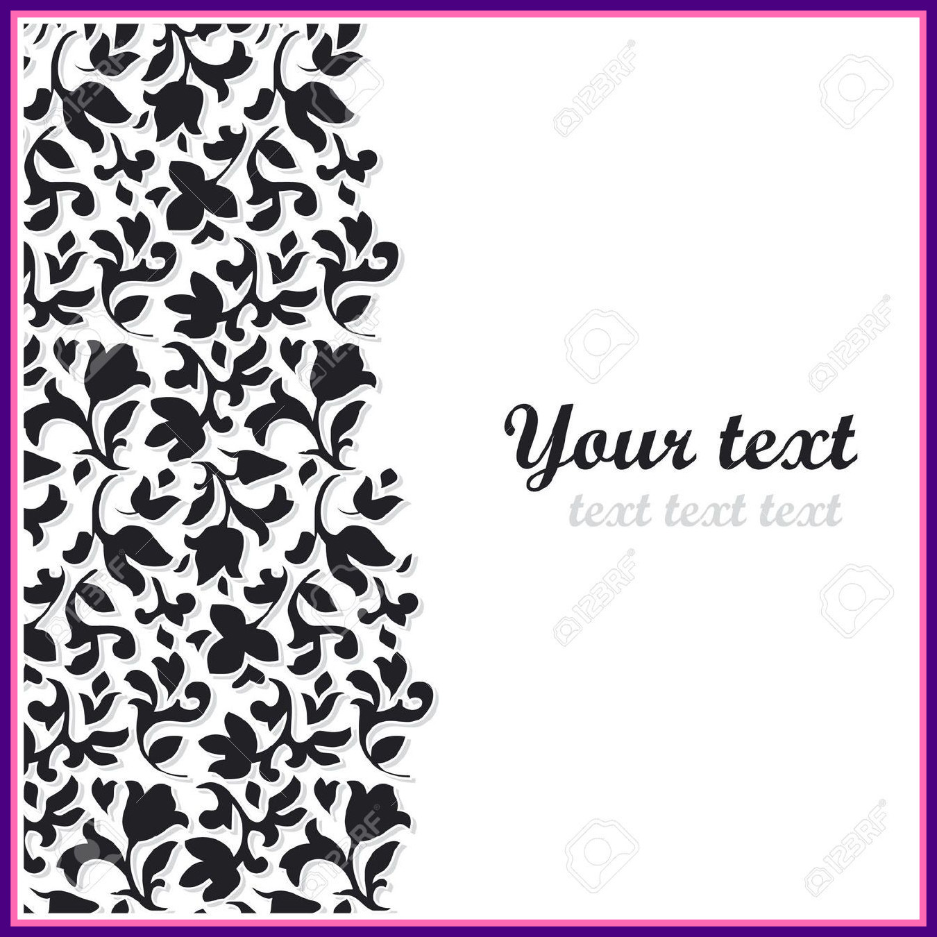 Flower Vector Black And White At Getdrawings Free Download