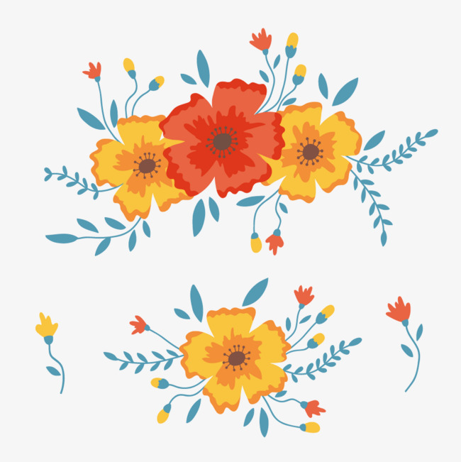 650x651 Vector Flowers, Illustration, Brush, Flowers Png And Vector For