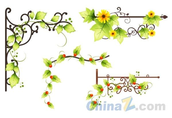 600x410 Flower Flower Vine Vector Vines For Kitchen Flower