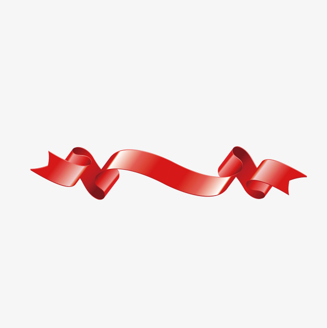 650x651 Flowing Red Ribbon, Ribbon Vector, Vector, Red Png And Vector For