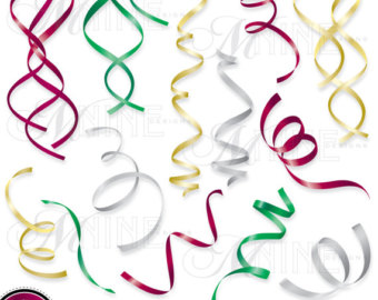 340x270 Flowing Ribbon Clipart