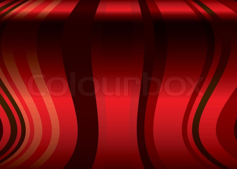 800x569 Red Flowing Ribbon Background With A Curved Wave Like Effect