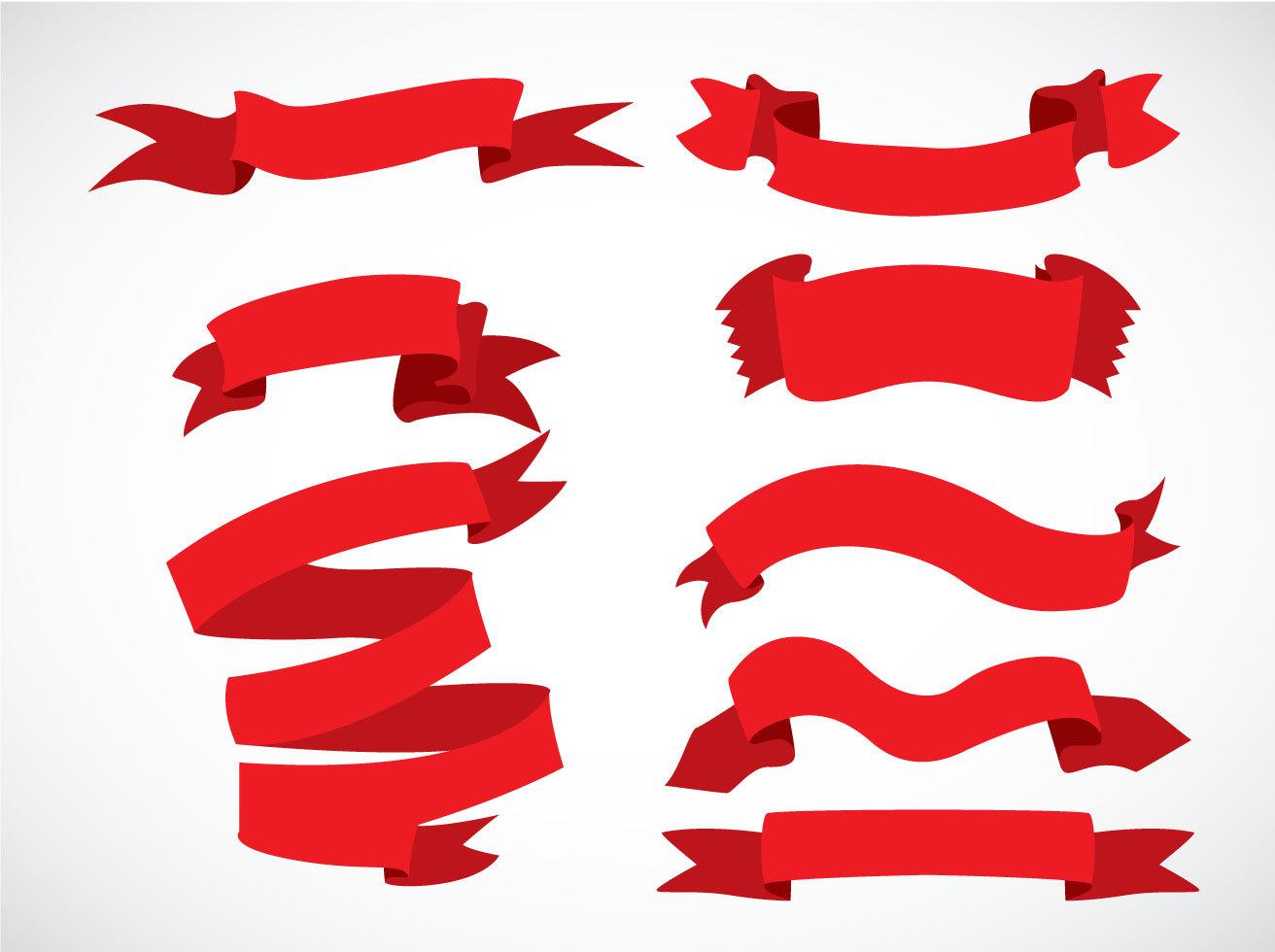 1312x980 Ribbon Free Vector Art