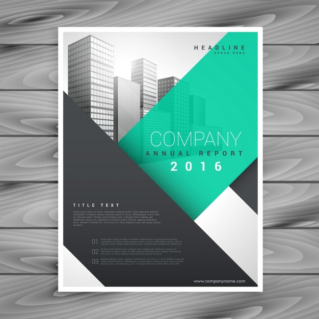 626x626 Useful And Modern Flyer With Geometric Shapes Vector Free Download