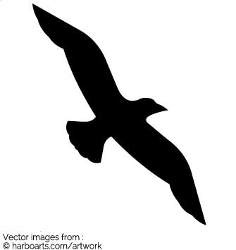 Flying Bird Vector at GetDrawings com | Free for personal