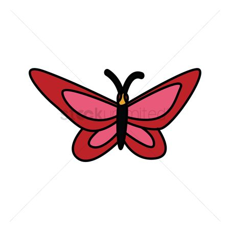 450x450 Free Flying Butterfly Vector Stock Vectors Stockunlimited