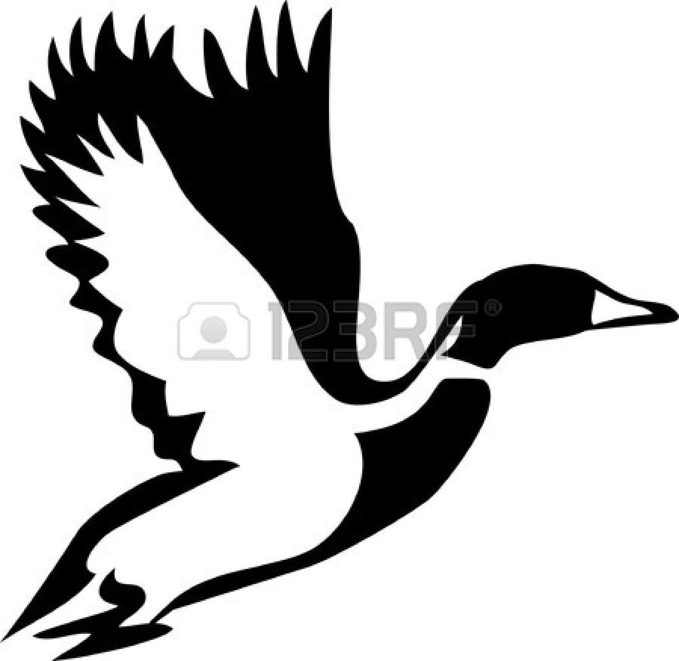 1350x1314 Collection Of Simple Flying Duck Drawing High Quality, Free