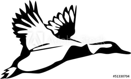 500x302 Flying Duck