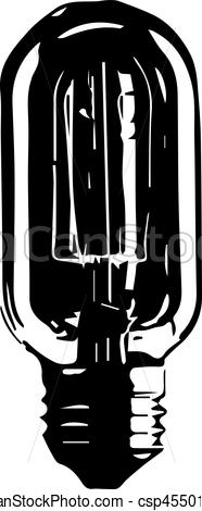 186x470 Logotipo, Vector, Foco. Tornillo, Hecho, Silueta, Contorno, Luz